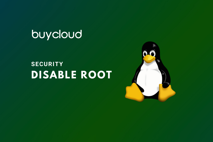 Disable Login Root Linux